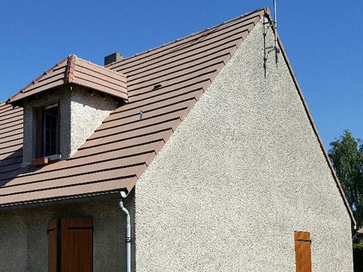 Extoplus extension de toiture rempla ant les couvertines - Pose fenetre de toit sans autorisation ...