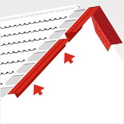 Ajouter un débord de toiture avec le système Extoplus